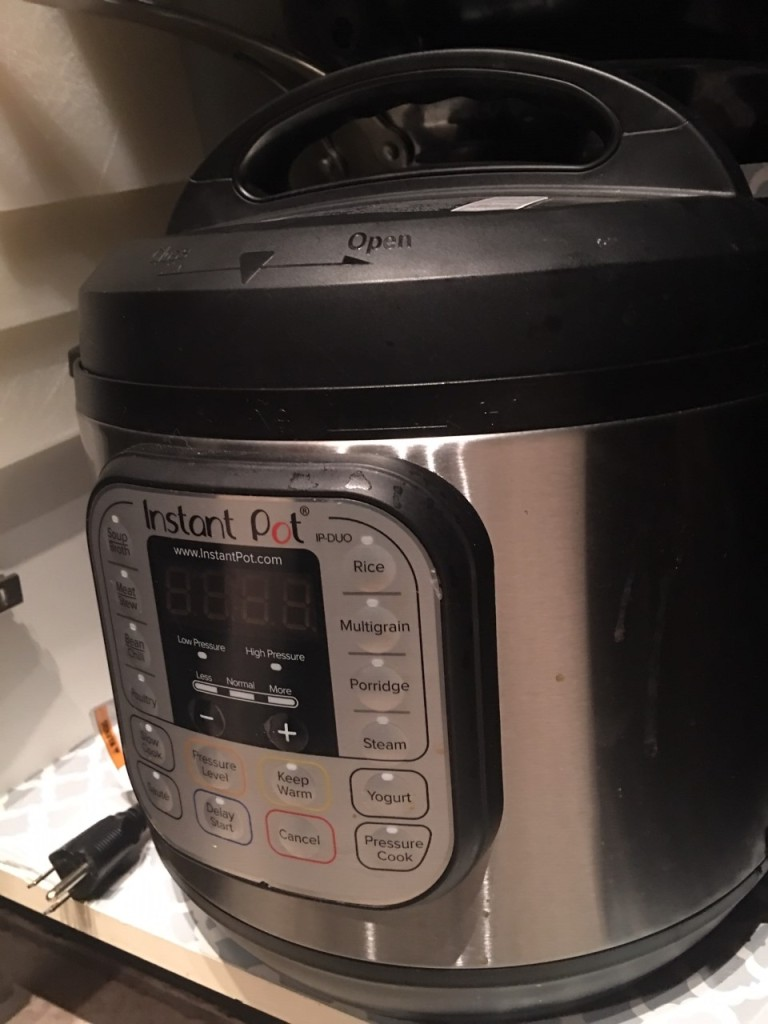 PHOTO OF INSTANT POT PRESSURE COOKER