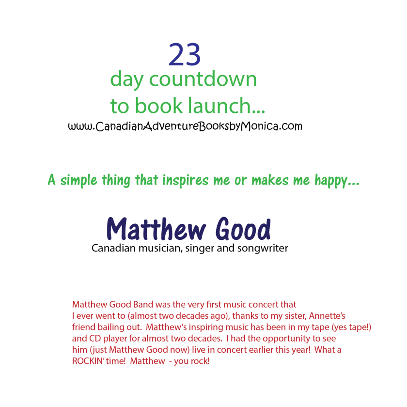 23 day countdown matthew good