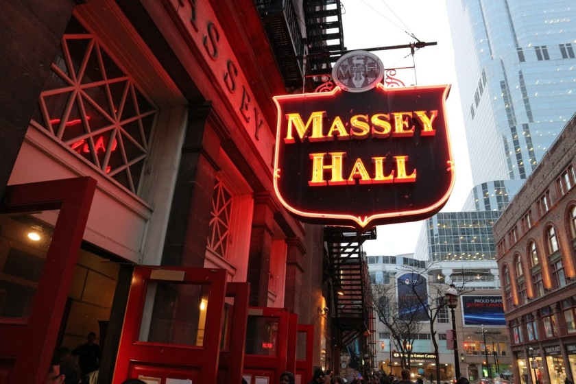 photo from massey hall matt good concert