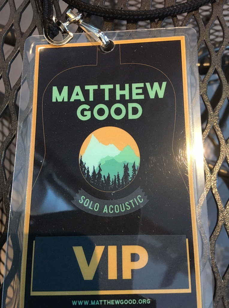 matt good vip tag
